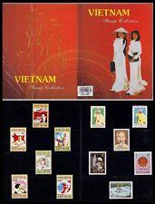 VIETNAM Superbe Livret Souvenir sous blister 1975 1980 HO CHI MINH** Booklet NH