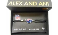Alex and Ani Kindred Cord New England Patriots Bracelet Sterling Silver NWTBC
