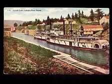 OR - NO. 7196 - CASCADE LOCKS, COLUMBIA RIVER 1907-1914