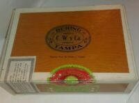 Vintage Bering Cigar Box and 10 Bering Cigar Tubes