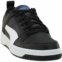 Puma Rebound LayUp Lo Lace Up Sneakers  Casual    - Black - Mens