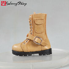 "Sherry Boots/Shoes for 1/4 BJD Mini Super Dollfie 17"" Tonner dolls Men/Matt 8MB5"