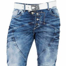 CIPO & BAXX PACHA MENS JEANS DENIM STRAIGHT CUT ALL SIZES
