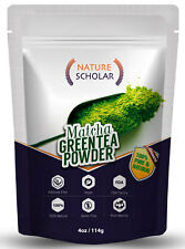 Nature Scholar Matcha Green Tea Powder 4 Oz ( 113 servings) - 100% Pure Matcha