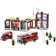 Lego City Fire Set 7208 Fire Station 2010 100% Complete Bricks Blocks