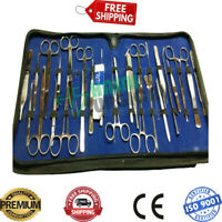 MILITARY FIELD MINOR SURGERY SURGICAL INSTRUMENTS, FORCEPS SCISSORS KIT