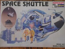 1/72 Hasegawa SPACE SHUTTLE Caricature Novelty model kit w/stand Sealed MISB OOP
