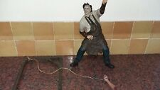 "MCFARLANE LEATHERFACE FIGURE 12"" TALL"