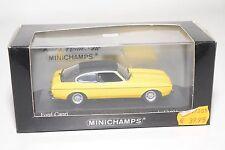 . MINICHAMPS FORD CAPRI II 2 1974-77 YELLOW MINT BOXED