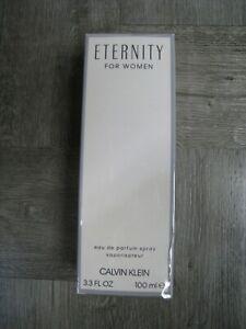ETERNITY by Calvin Klein perfume for women EDP 3.3 fl oz Sealed New in Box