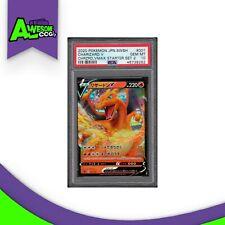 Pokemon PSA 10 Japanese Sword & Shield Charizard V 001/021 Ultra Rare New
