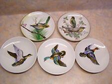 New ListingVintage Decorative Miniature Bird Duck Plates Gold Trim