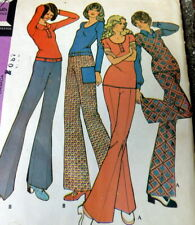 *LOVELY VTG 1970s TOP & PANTS McCALLS Sewing Pattern 14/36