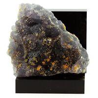 Fluorite et Calcite jaune. 586.3 ct. Fontsante Mine, Var, France. Ultra Rare