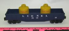 Lionel 11180 Lionel 6112 gondola with removable caniste