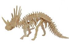 Styracosaurus Dinosaur 3D Wooden Model Kit Jurassic Jigsaw Intelligence Puzzle