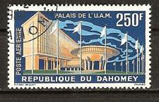 Dahomey # C18 Used African Chiefs Of State