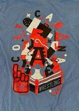Colt Cabana The Art of Wrestling T-shirt Pro Wrestling Crate M Medium RoH NJPW