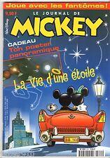 LE JOURNAL DE MICKEY n°2511 ¤ 2000 ¤ AVEC POSTER PANORAMIQUE LA VIE D'UNE ETOILE