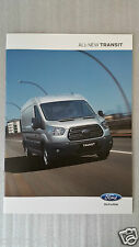2014-15 Ford All-transit 20 Page Colour Brochure MINT