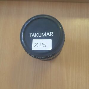 PENTAX TAKUMAR-A 28-80mm F3.5-4.5 Zoom Macro Lens (X15)