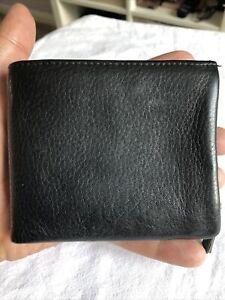 NEXT Gentlemans Black Leather Bifold Wallet.