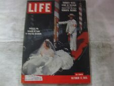 Life Magazine October 17th 1955 Princess Ira Wedding Published By Time     mg563