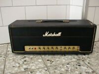1975 MARSHALL ARTISTE 100 W AMP TOP - made in ENGLAND - REVERB