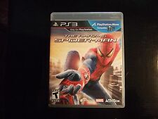Replacement Case (NO GAME) THE AMAZING SPIDER-MAN SPIDERMAN  PLAYSTATION 3 PS3