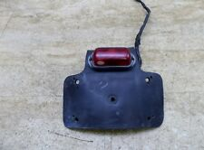 1974 Suzuki TS250 L S827. aftermarket tail light and rubber mount