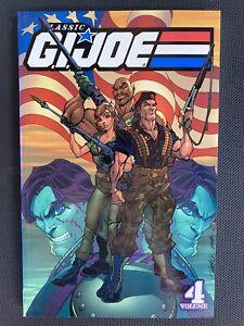 CLASSIC G.I JOE VOLUME 4 LARRY HAMA GRAPHIC NOVEL TPB IDW PUBLISHING HASBRO