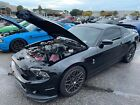 2013 Ford Mustang SHELBY GT500 2013 Ford Mustang Coupe Black RWD Manual SHELBY GT500