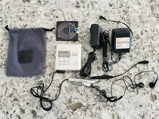Sony Mz-R55 Silver Portable MiniDisc Player / Recorder & Remote Mint Cond Tested