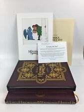 The Art of The Hunchback of Notre Dame Signed Collector's Book 0542/2500 Disney