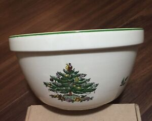 """SPODE CHRISTMAS TREE - SERVING BOWL - 8"""" 30CTR086 - New without box"""