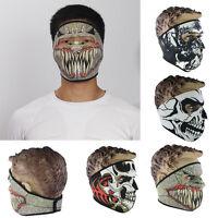 Funny Trick Sport Ski Bike Motorcycle Snowboard Winter Warm Skull Full Face-Mask