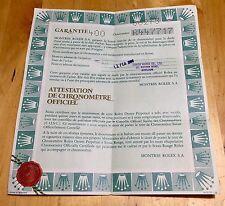 Rolex VINTAGE CERTIFICATO DI GARANZIA R447717 68273 Datejust bicolore in acciaio e oro