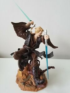 Star Wars Anakin Skywalker Statue Diorama Figure 2002 Unleashed Hasbro