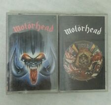 Motorhead Cassette Tape Lot 1916 Rock N Roll Lemmy  Wurzel Wizzo Philthy 90s