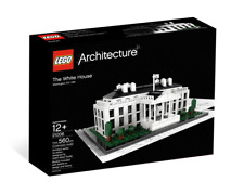 LEGO Architecture 21006 - The White House (RETIRED SET) New & Sealed