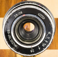 ⭐Industar-69⭐ 28mm f2.8 USSR pancake wide Objektive lens M39 2.8 MMZ LOMO Chaika