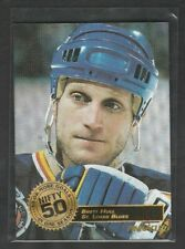 1993-94 Pinnacle Brett Hull Nifty 50