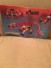 K'nex K'nexosaurus Manual Toy Construction 12511/22511