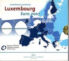 LUXEMBOURG Coffret 10 Pièces d'Euro en coffret BU 2007