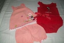 Baby girl clothes Disney Minnie Mouse size 12m -combined postage available