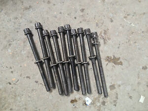 Honda civic type r k20z4 fn2 gt model Genuine UKDM 29k cylinder head bolts