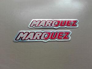 Aufkleber 2er Set Sticker Motorsport Marquez Motorcross Biker Autocross Tuning