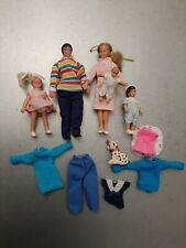 Vintage HORSMAN Doll House Family  Set Of Five