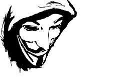 Framed Print - Anonymous Computer Hacker (Picture Poster Firewall Virus Art)