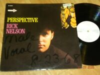 RICK NELSON - Perspective LP whitle label promo near Mint RARE